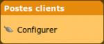 Configurer les postes clients