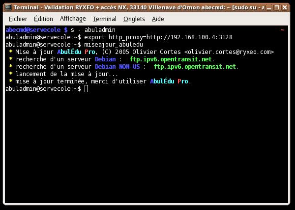 Glossaire le terminal la documentation d 39 abul du for Jardin informatique